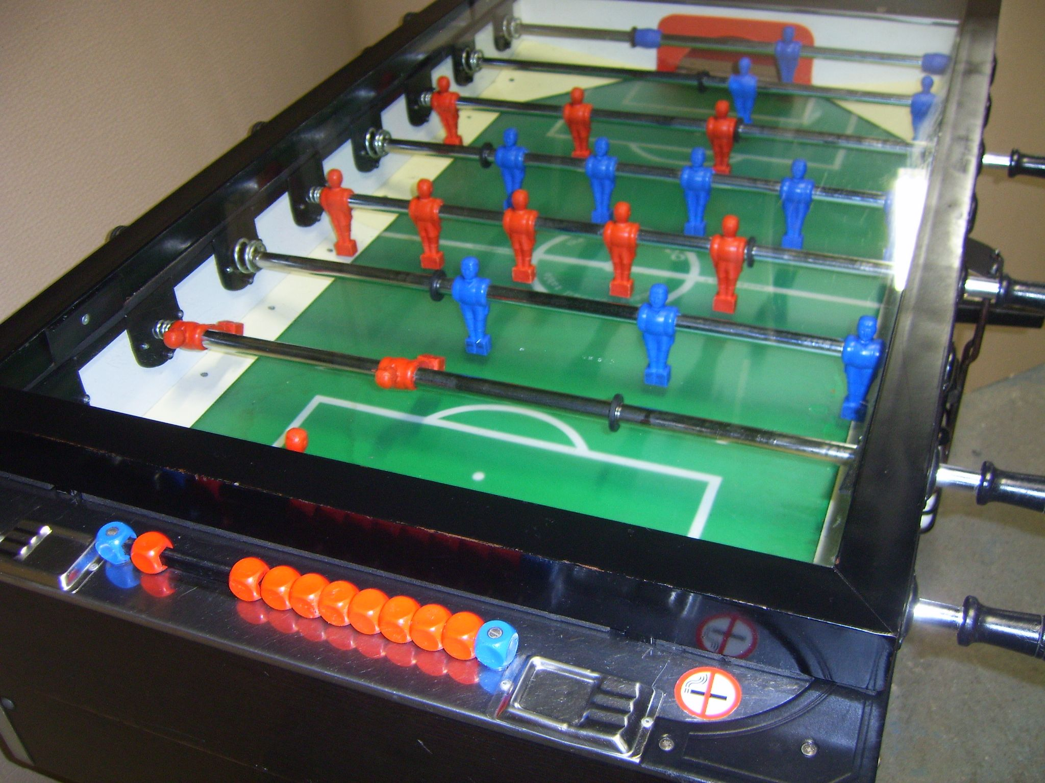 Genuine Italian Fabi Torino Football Foosball Table Coin Operated - Italian foosball table